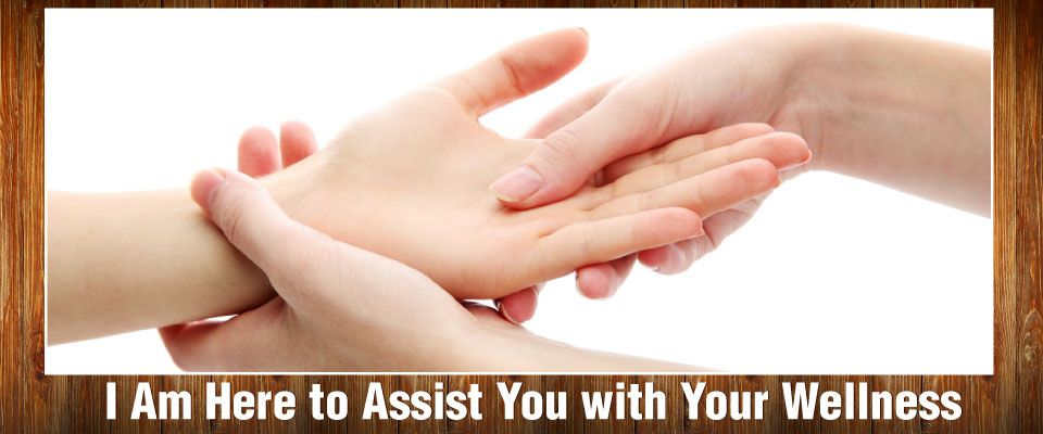 I Am Here to Assist You with Your Wellness | hand massage